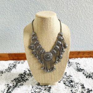 🆕 Bohemian Silver Necklace